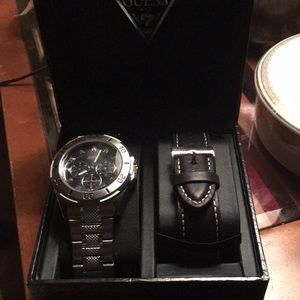 Guess Mens Chronograph Watch